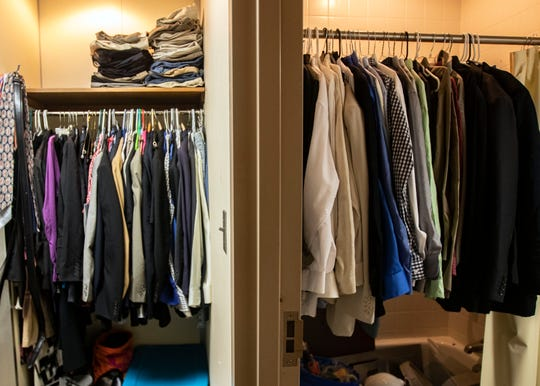 The Shelby County Public Defender's office maintains a clothes closet used by lawyers when a defendant or a defendant's family is unable to provide appropriate clothes for a jury trial.
