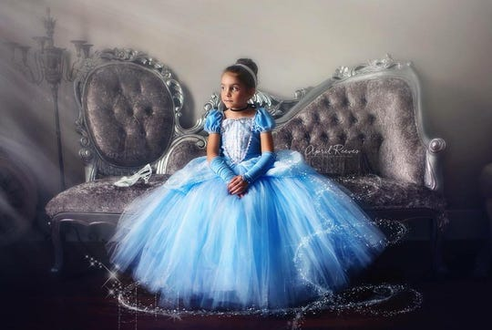 Arlington-based business My Fairy Godmother rents out elaborate princess dresses and other costumes for trips to Disney, photo shoots and birthday parties.