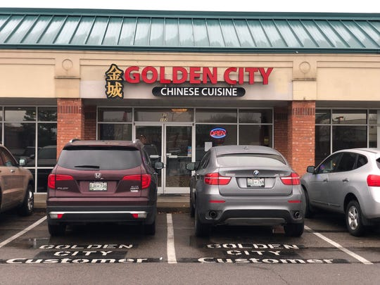 Chinese restaurant Golden City is tucked away in a nondescriptstrip mall one block off Germantown Parkway in Cordova.