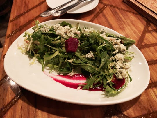 The beets salad at The Oyster Society, Marco Island.