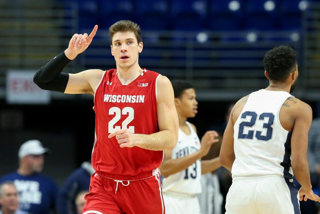Ethan Happ and the Badgers face Oregon in an NCAA tournament game Friday.