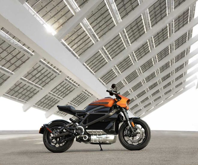 Harley-Davidson's first electric motorcycle was launched in 2019.