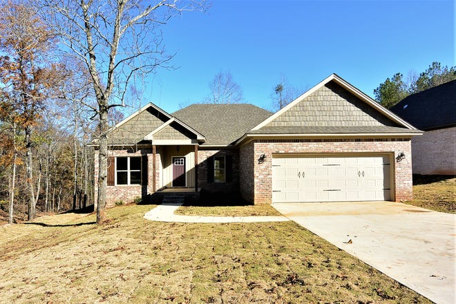 A home on Mulder Cove Lane is for sale for $221,900 and includes four bedrooms and two bathrooms within 1,858 square feet of living space. Construction on the new home was completed in November of 2018.
