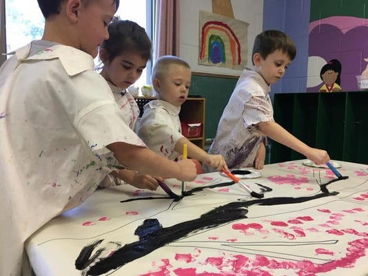 Preschool Painters