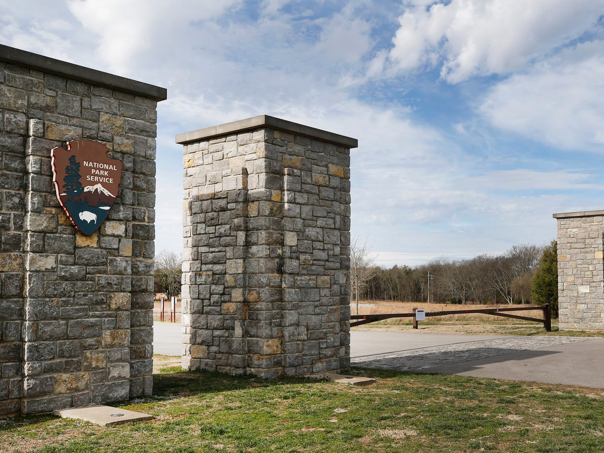 The Stones River National Battlefield is still closed on Thursday Jan. 7, 2019, after the government shutdown on Dec. 22, 2018.