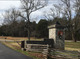 While Stones River National Battlefield's main entrance is closed, the gate leading into the visitors center is open amid the government shutdown.