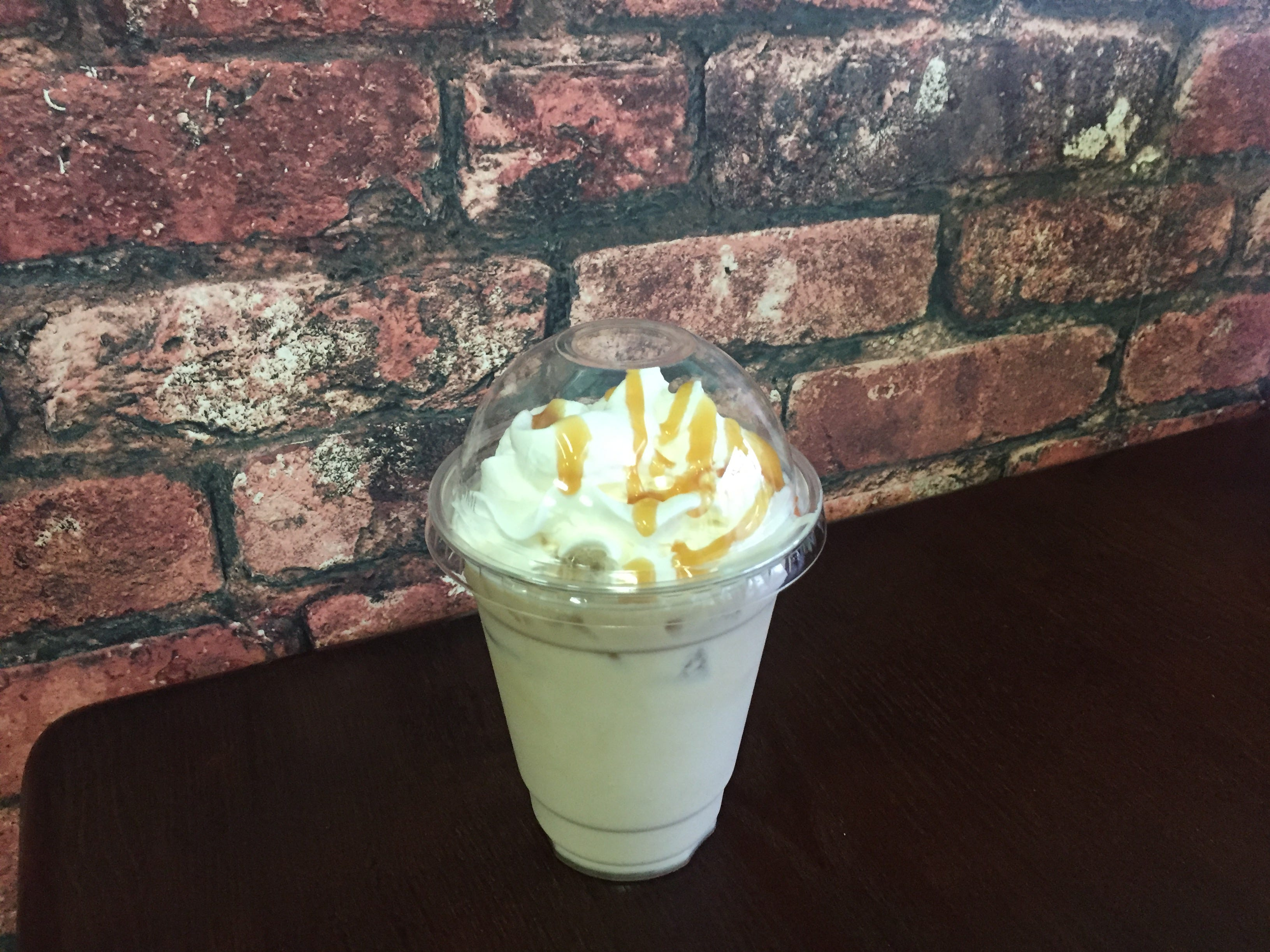Iced coffee is one of many java beverages from Nonie's Bakery in Murfreesboro.