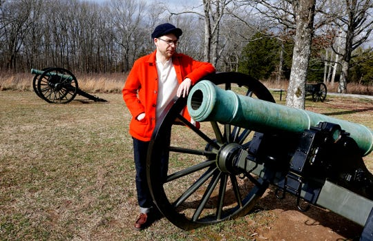 Its closure didn't stop William Schlaack from visiting Stones River National Battlefield on Thursday.