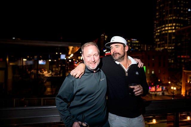 Edgenet partners CEO Steve Proctor and EVP Tim Stafford