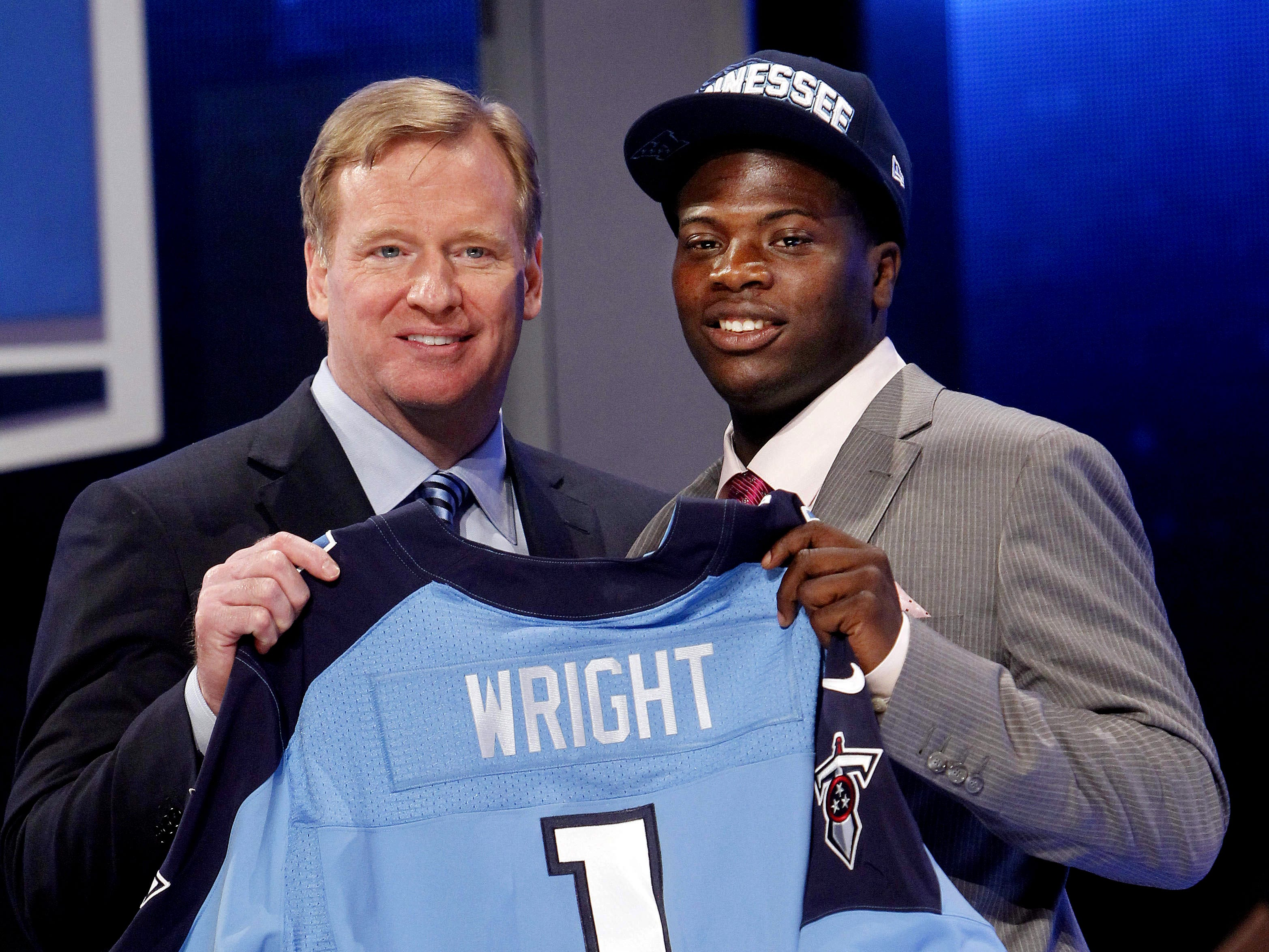 2012: Kendall Wright (No. 20 overall) Wide Receiver, Baylor