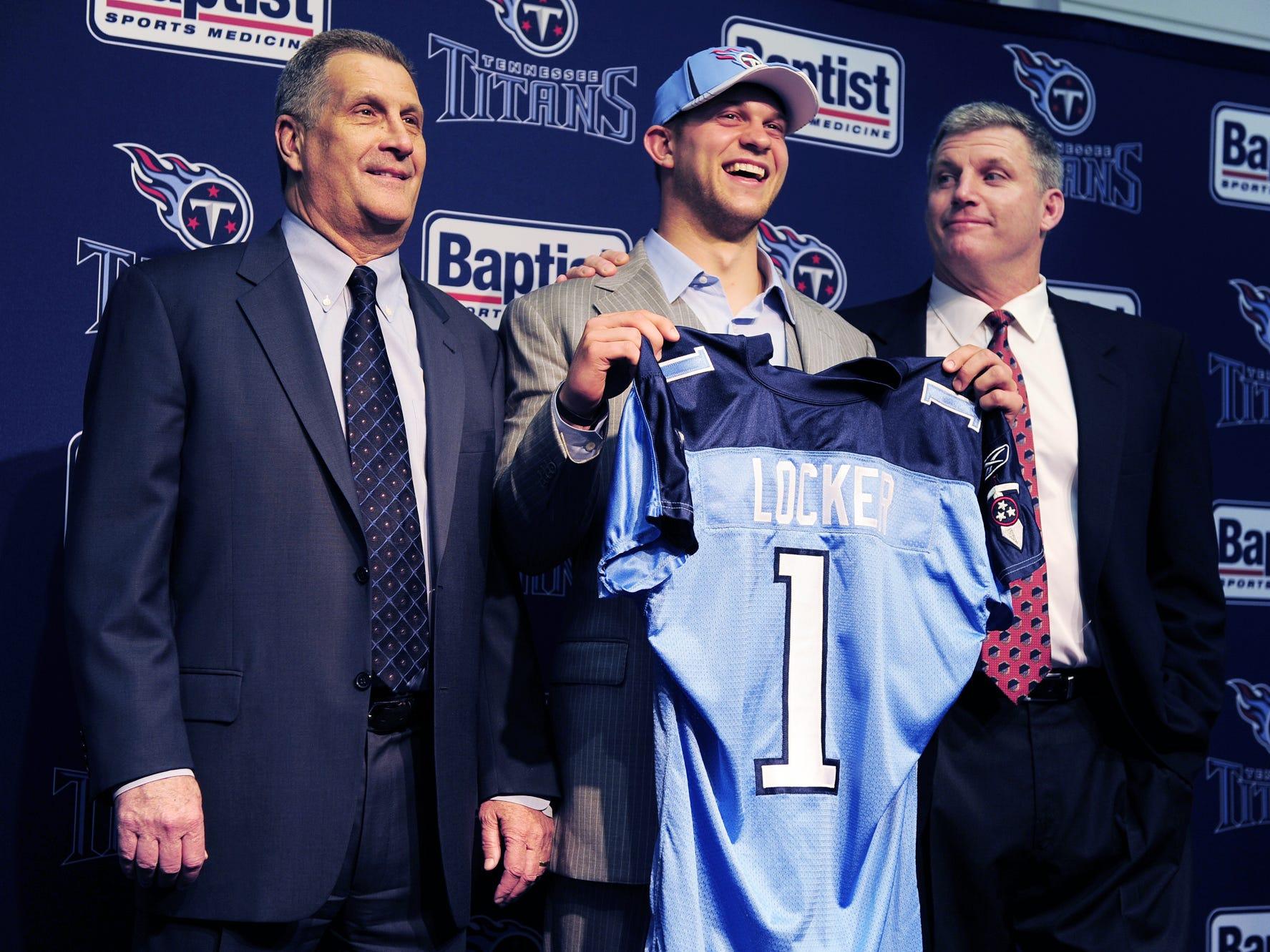 2011: Jake Locker (No. 8 overall) Quarterback, Washington