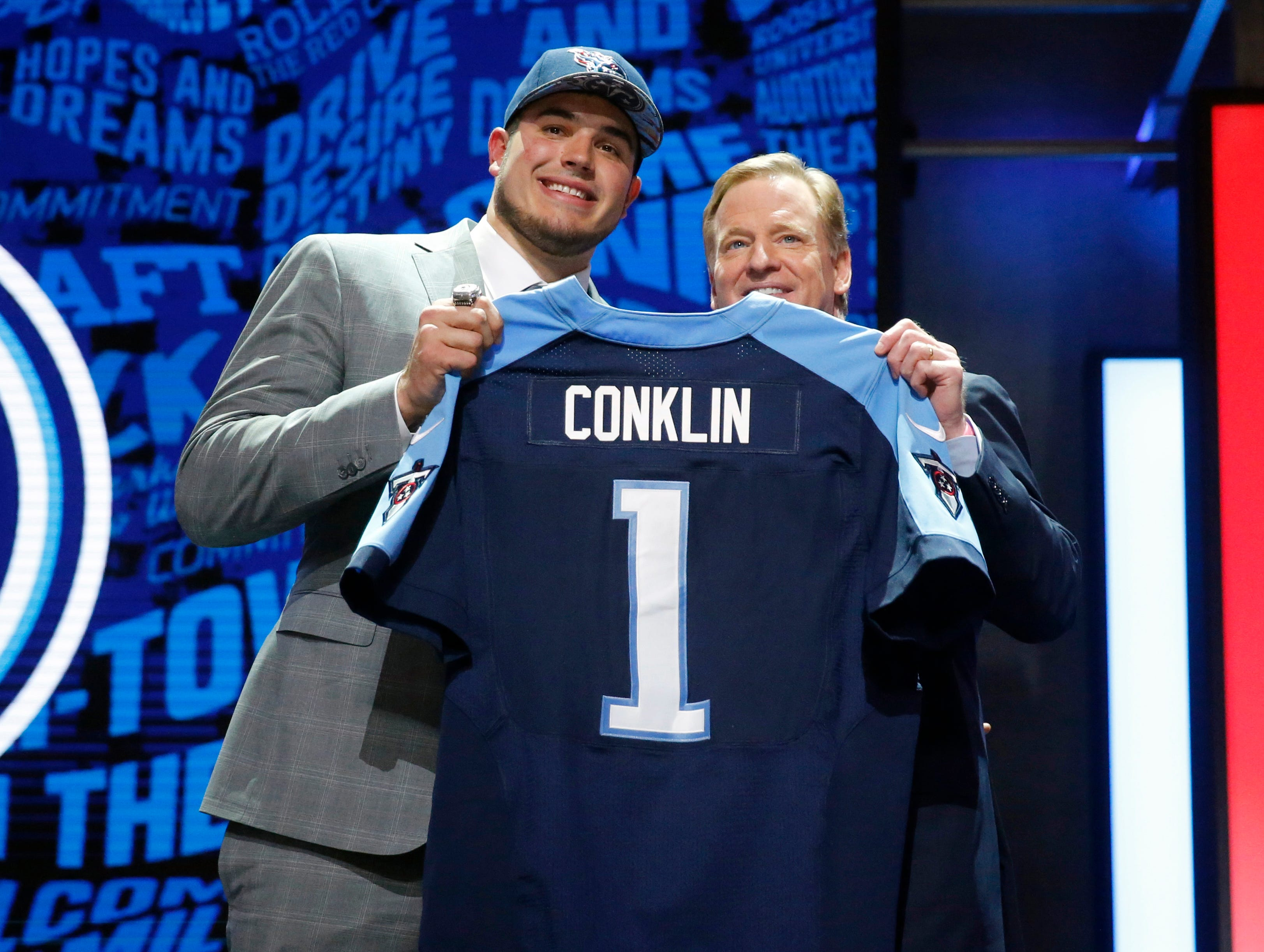2016: Jack Conklin (No. 8 overall) Offensive Lineman, Michigan State  Conklin began with two excellent seasons, then a torn ACL in January 2018 forced an up-and-down third season.