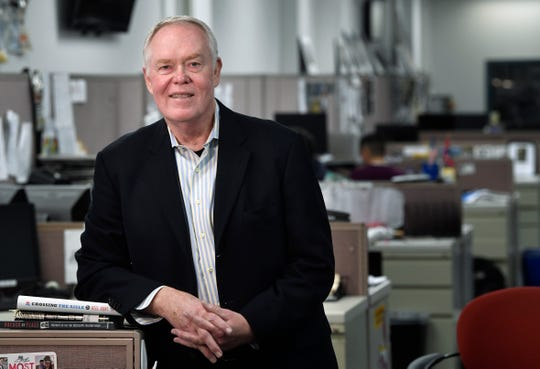 Former Tennessean reporter Jim O'Hara was a Pulitzer Prize finalist in 1990 for exposing charity bingo gambling corruption. He started at The Tennessean as a clerk while in high school.