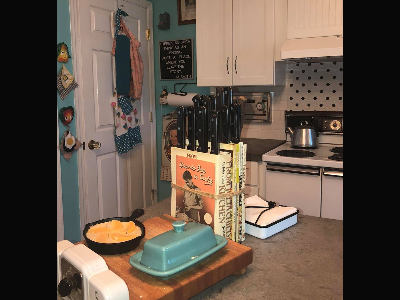 Kathleen Walter worked for years to gather items for her retro 1950s kitchen.