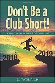 Former Vanderbilt football player Tate Rich has written a book on the new rules of golf.
