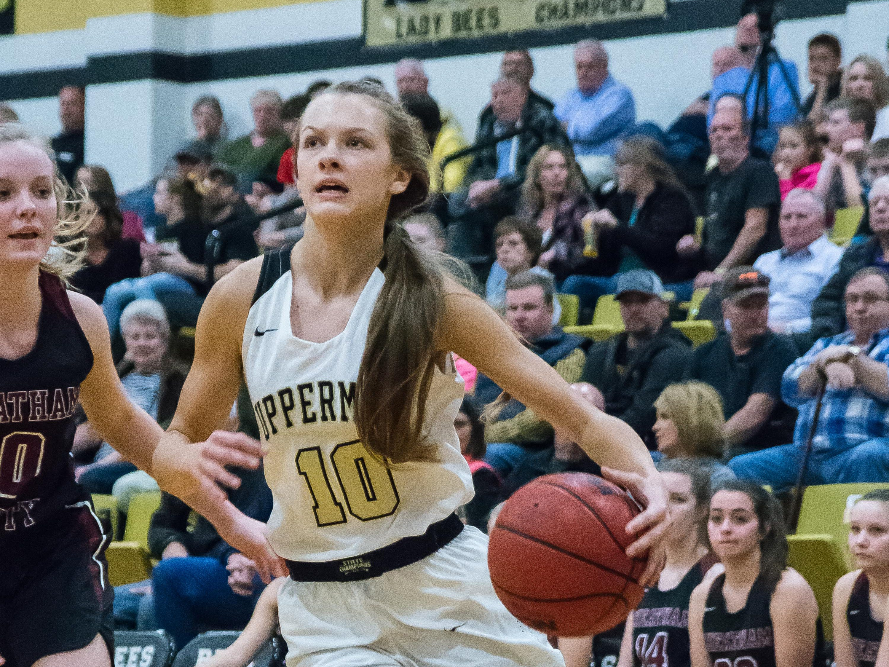 Upperman's Reagan Hurst had a big night.