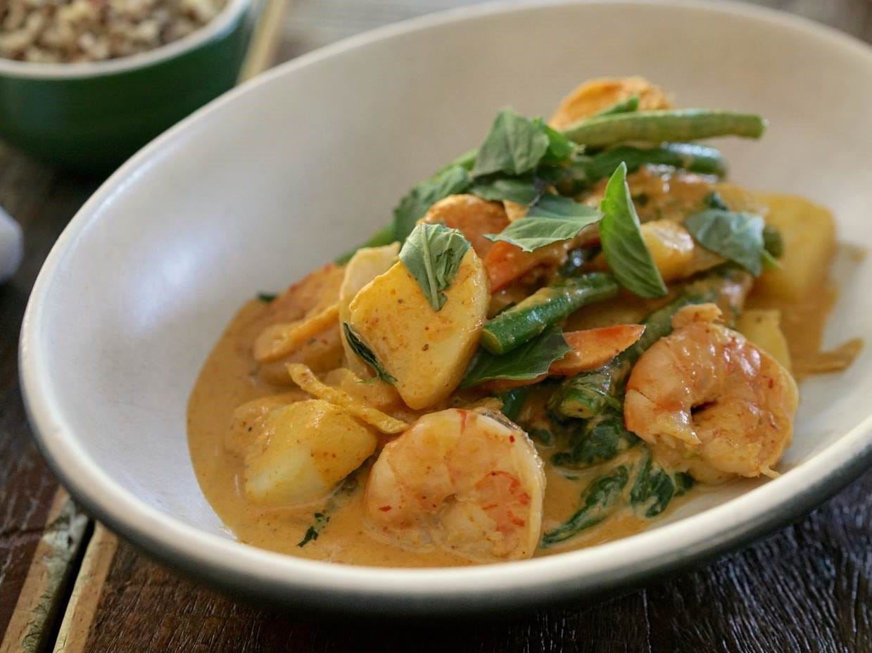 Spicy panang curry