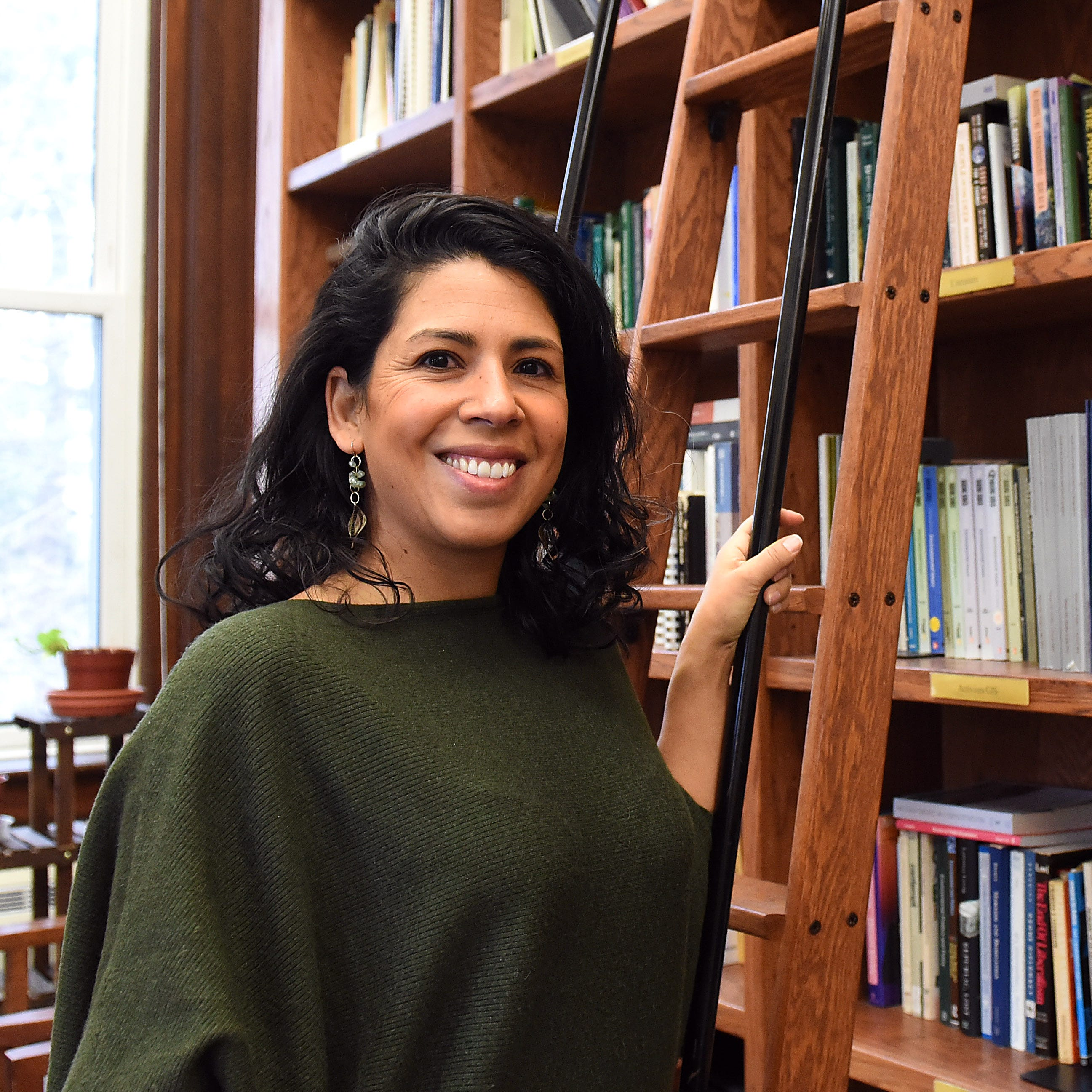 Women in STEM: Denison's Olivia Aguilar grows into passion for environmental studies