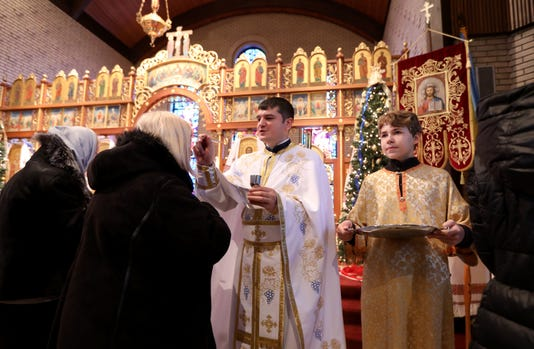 Orthodox Christmas 2019.Ukrainians Celebrate First Christmas After Split From