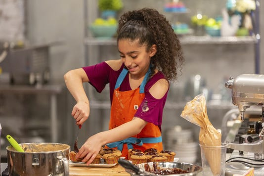 Clifton Nj Girl Competes In Food Network Kids Baking Championship
