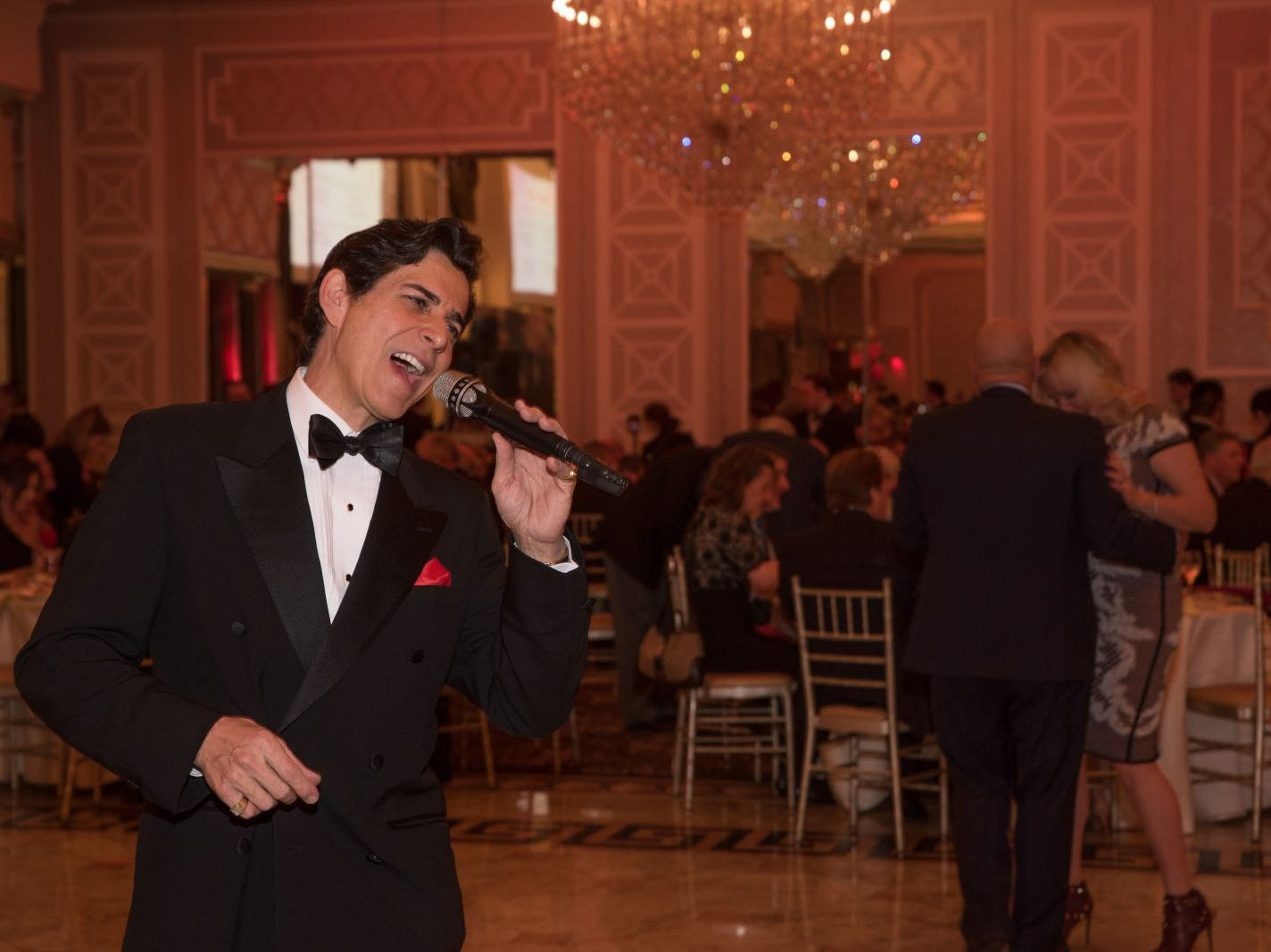 Eddie Pirrera, entertaining the guests. Bergen Catholic High School celebrates their 2018 Crusader Gala at The Venetian in Garfield. 11/16/2018