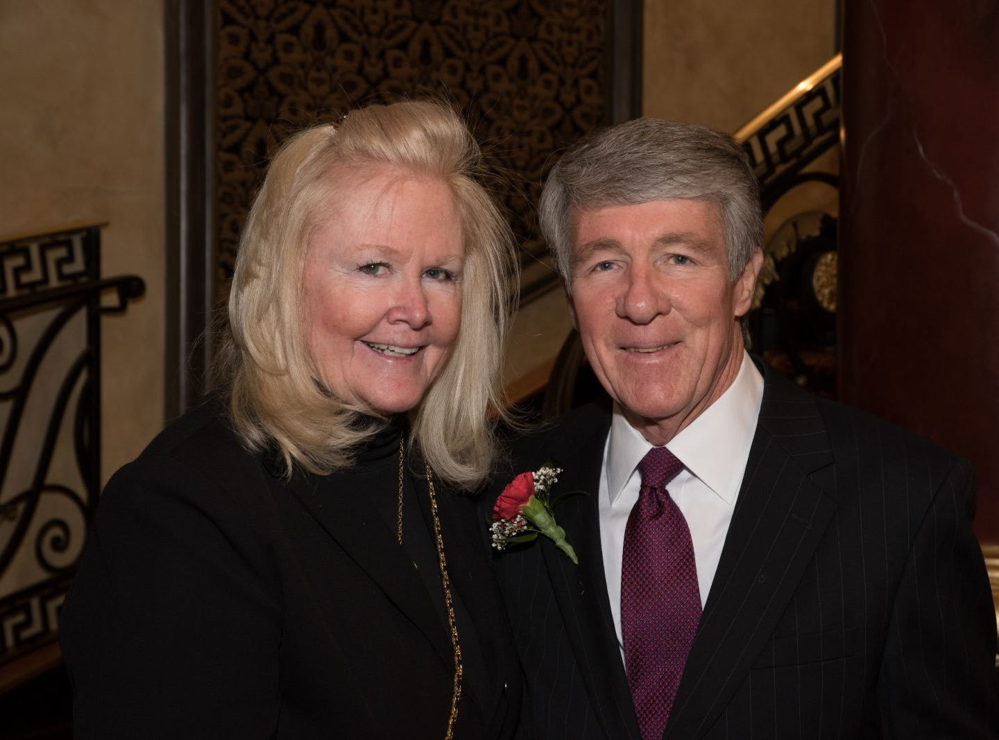 Patti and Joe (honoree) Donlan. Bergen Catholic High School celebrates their 2018 Crusader Gala at The Venetian in Garfield. 11/16/2018