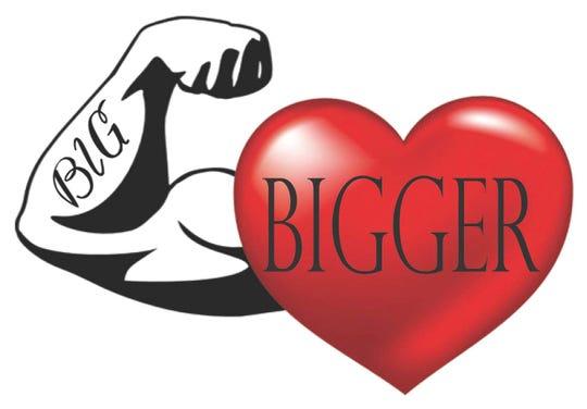Big Muscles Bigger Heart charity logo