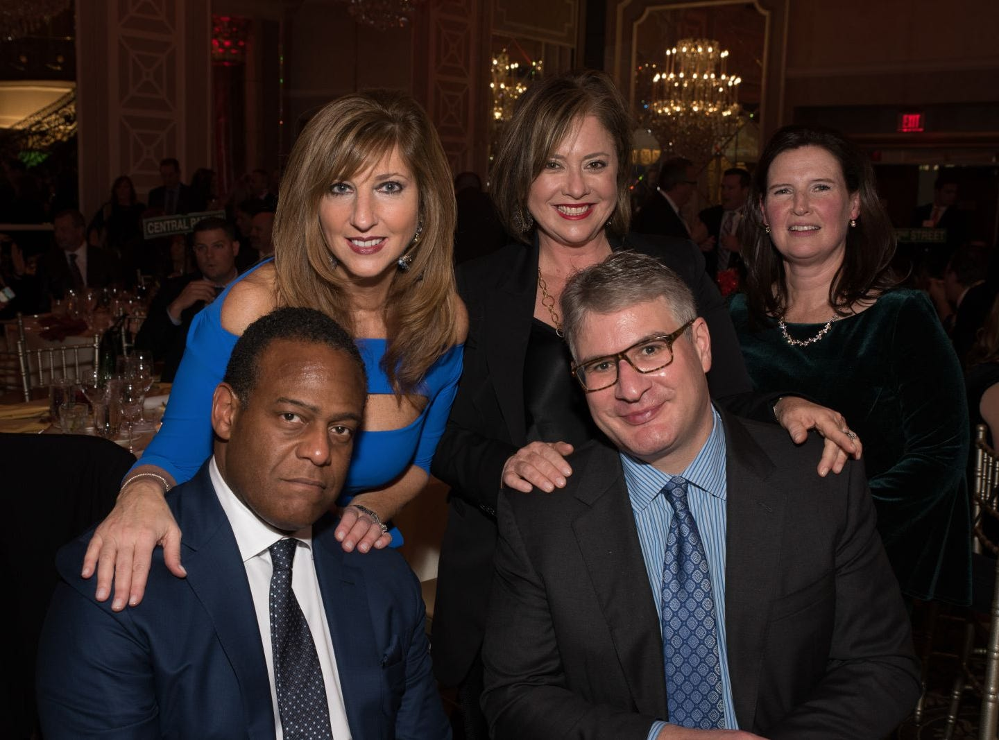 Greg and Debbie Regis, Monica and Stephen Borg and Eille Kennedy. Bergen Catholic High School celebrates their 2018 Crusader Gala at The Venetian in Garfield. 11/16/2018