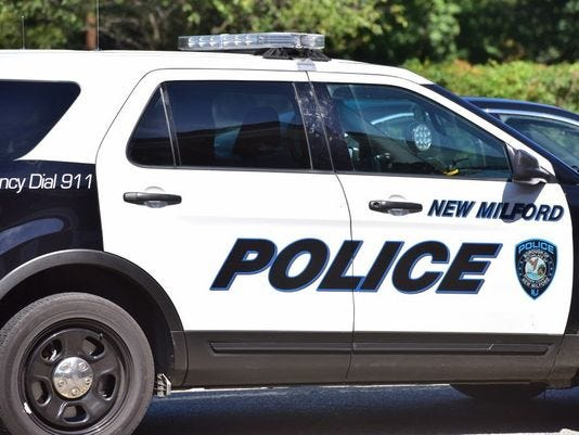 NEW MILFORD POLICE CAR