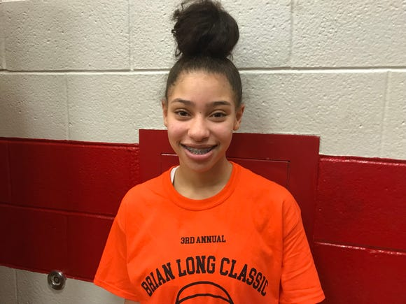 Ridgefield Park senior point guard Tatiana Bruno.