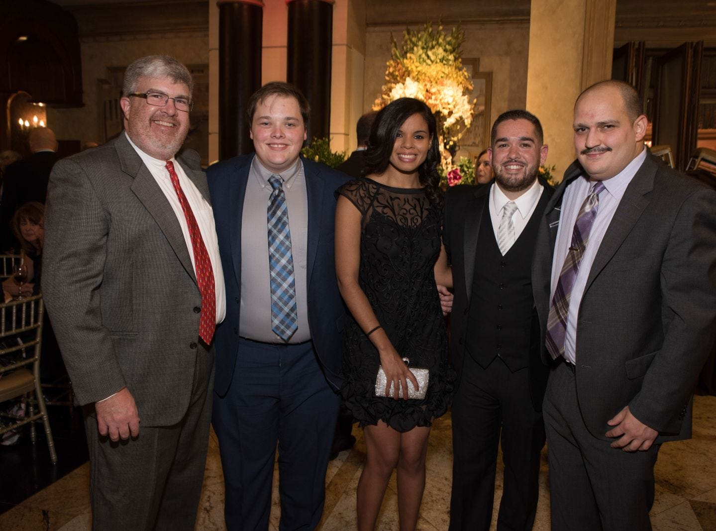 Bergen Catholic High School celebrates their 2018 Crusader Gala at The Venetian in Garfield. 11/16/2018