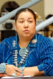 Navajo Nation Council Delegate Amber Kanazbah Crotty sponsored the legislation to rescind the change in employment status for program managers.