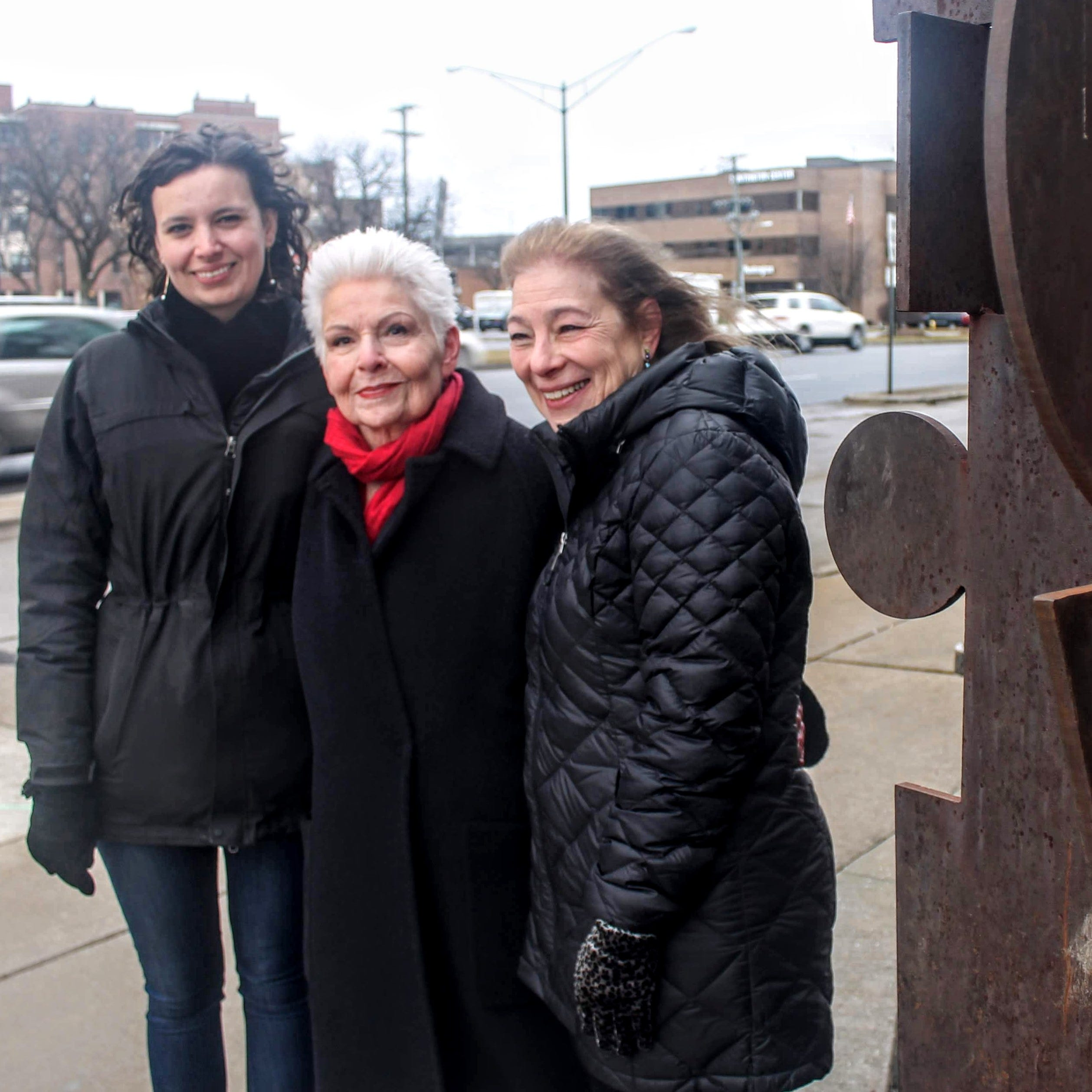 Birmingham resident donates sculpture for display along Woodward Avenue