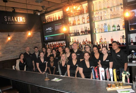 The Shakers staff was all smiles in anticipation of Monday's grand opening.