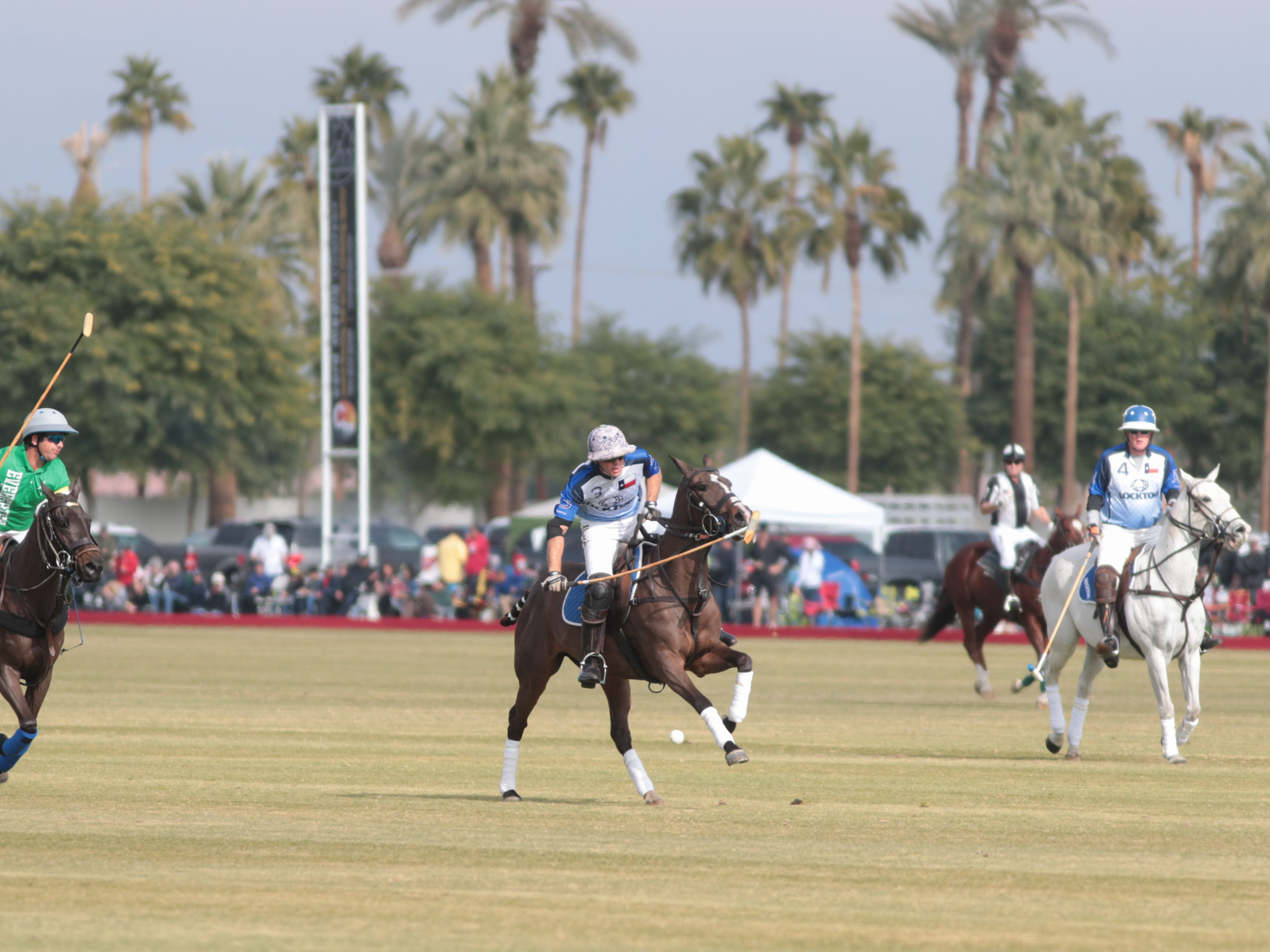 Polo seasons begins at the Empire Polo Club, Indio, Calif., Sunday, January 6, 2018.