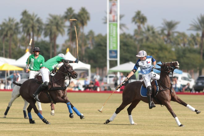 Opening day at the Empire Polo Club, Indio, Calif., Sunday, January 6, 2018.