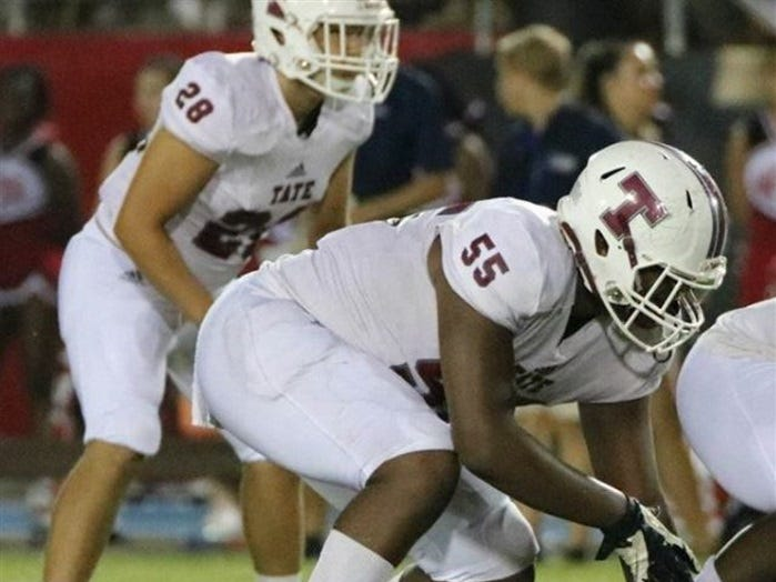 Dontaveous Fields, '20, 6-4, 275 lbs - 3 offers (South Alabama, Southern Miss, UAB)