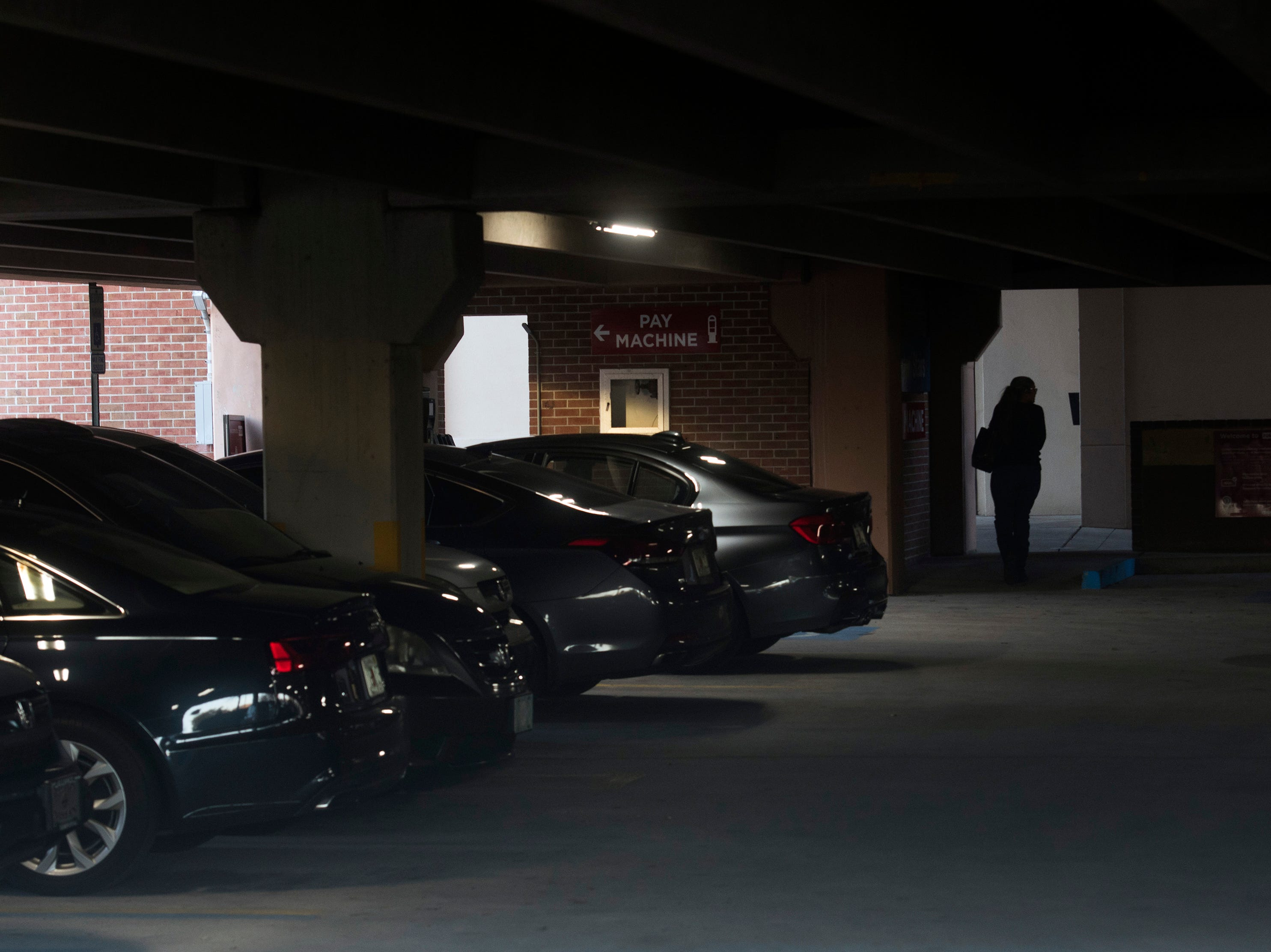 The Jefferson Street garage is an accessible and convenient parking facility in downtown Pensacola, but concerns over user safety are mounting on Monday, Jan. 4, 2019, after recent criminal activity.
