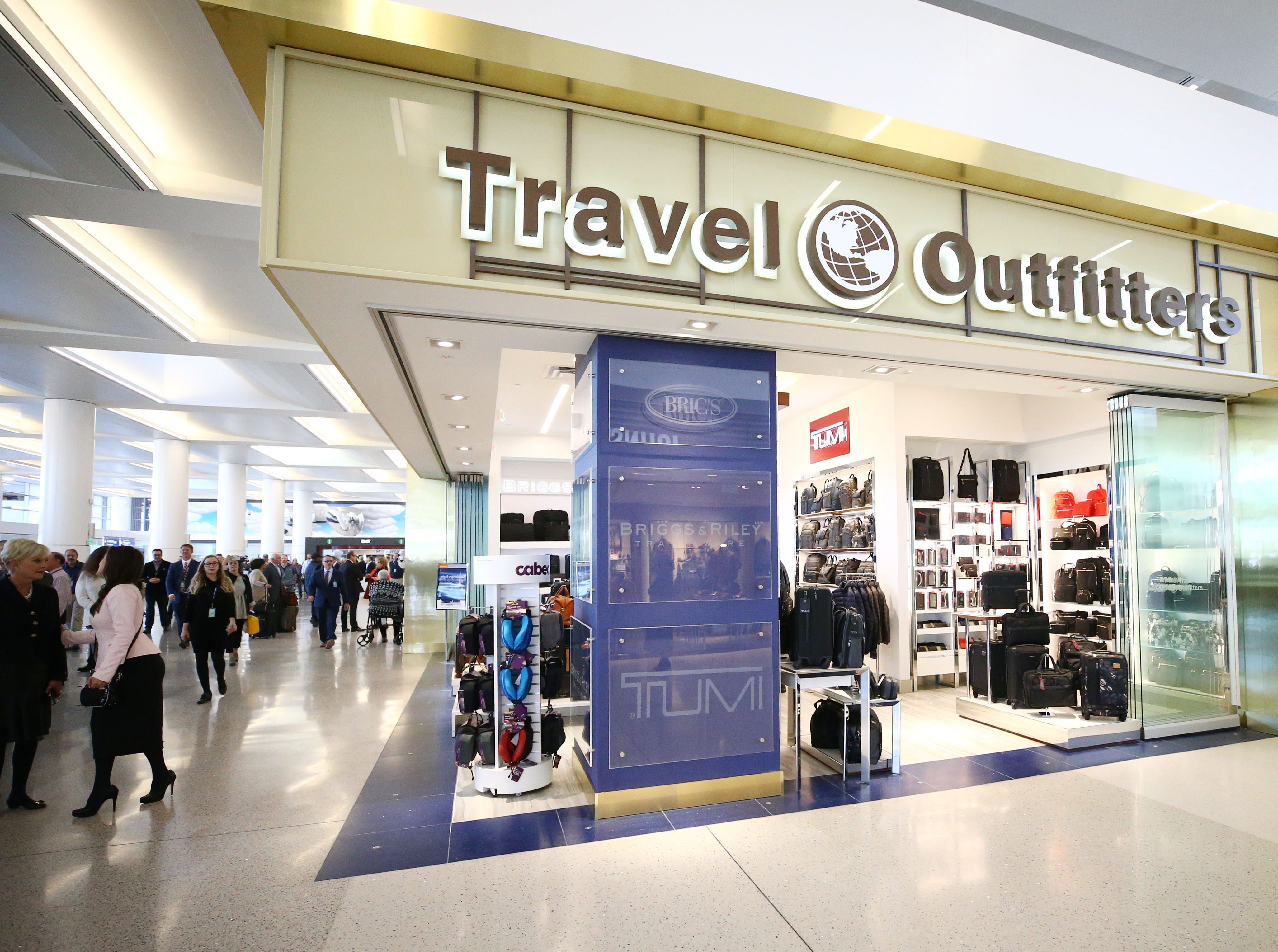 Shops at the new John S. McCain III Terminal 3, South Concourse during opening ceremonies on Monday, Jan. 7, 2019 at Phoenix Sky Harbor International Airport.
