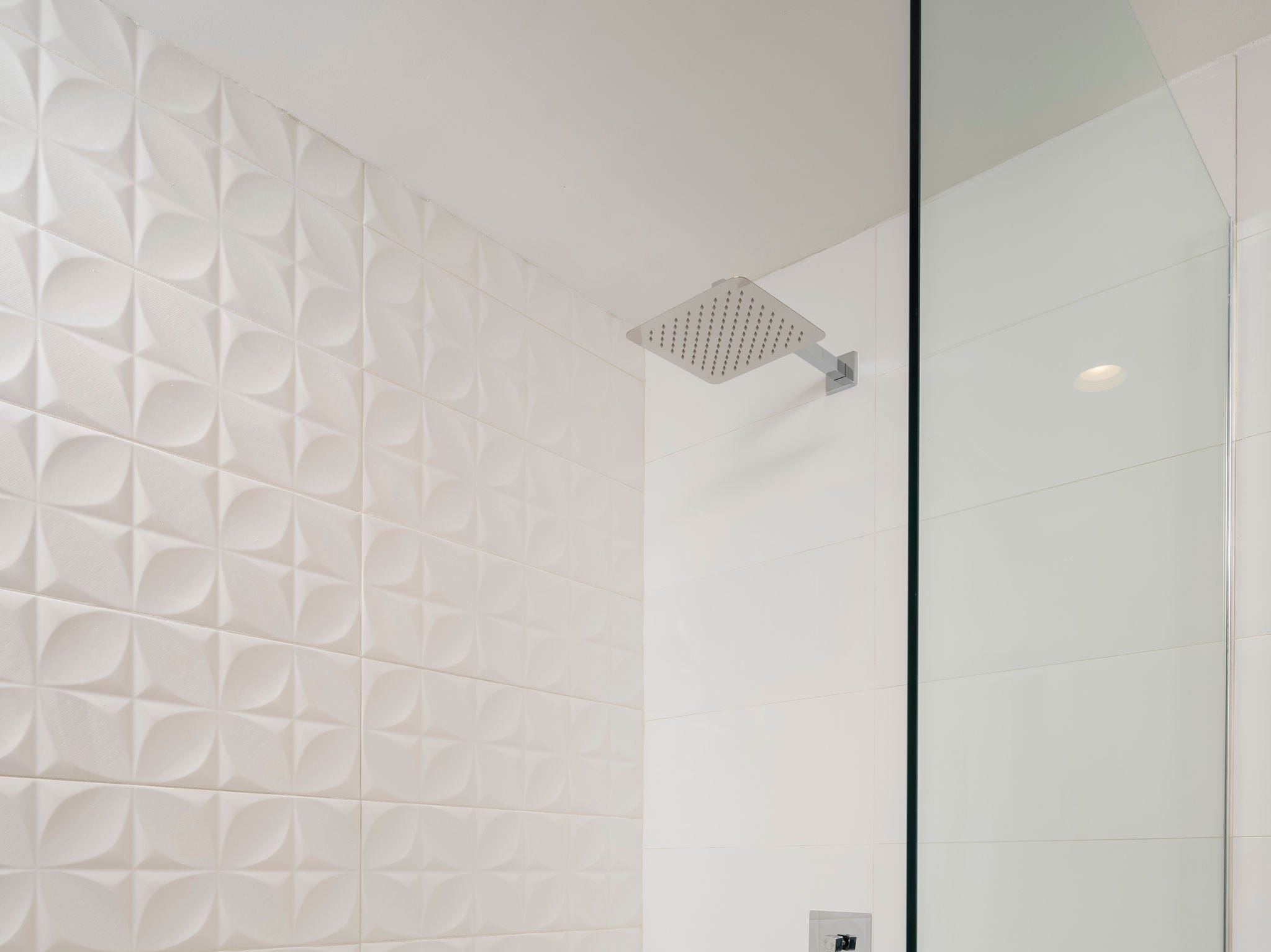 This bathroom received a complete overhaul during a three-month renovation.