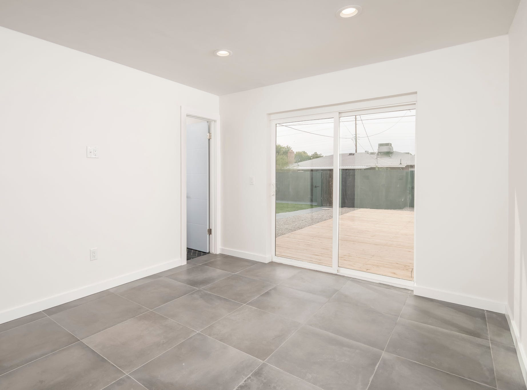 The home features three bedrooms and two bathrooms.