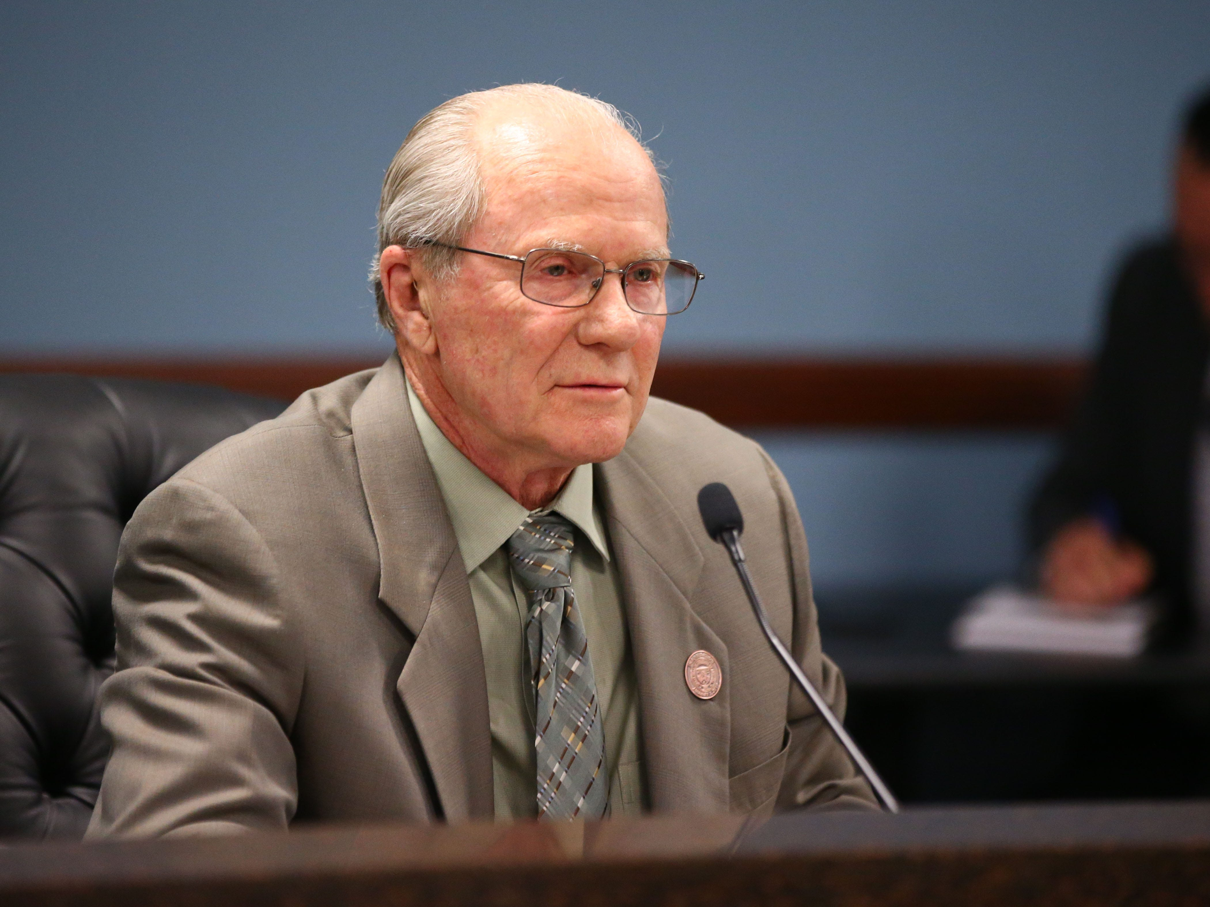 "Robert ""Bob"" Burns was elected the new chairman on Jan. 7 at Arizona Corporation Commission offices in Phoenix."