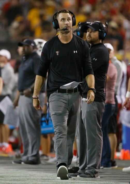 Kliff Kingsbury to interview with NFL's Jets, Cardinals for