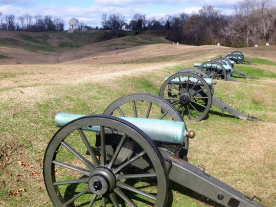 The battlefield at Vicksburg, Miss., where one of the most pivotal Civil War battles was fought in 1863.