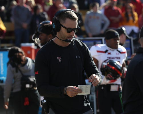 Ncaa Football Texas Tech At Iowa State