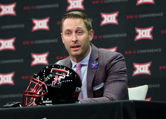 Kliff Kingsbury went 35-40 in six seasons at Texas Tech before being fired after the 2018 season.