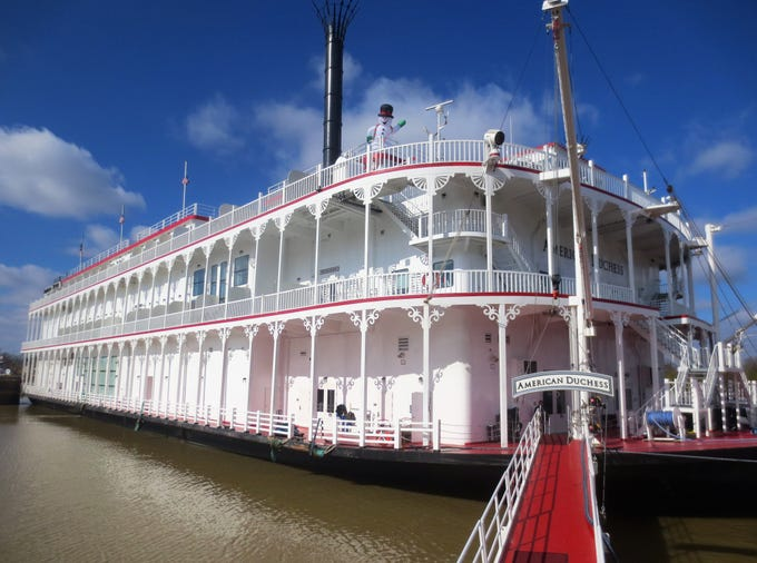 The 166-passenger American Duchess in Vicksburg, Miss.