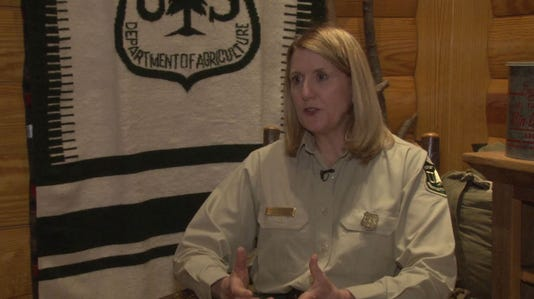 Former Arizona State Forester Vicki Christiansen