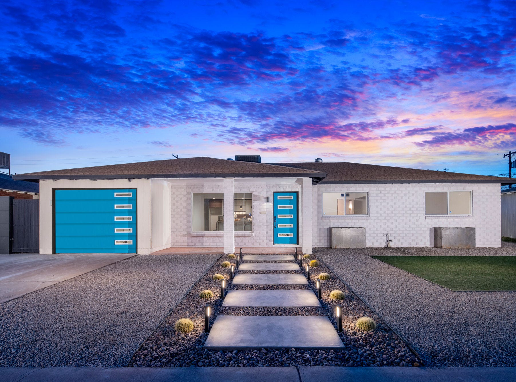 Owner Karl Freund spent $100,000 renovating his 1958 Hallcraft home.