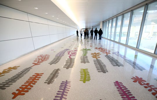 The new John S. McCain III Terminal 3, South Concourse during opening ceremonies on Monday, Jan. 7, 2019 at Phoenix Sky Harbor International Airport.
